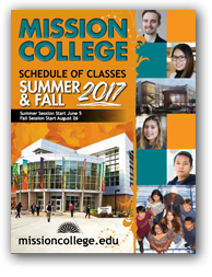 Mission College Class Schedule