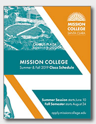 Summer 2020 Course Schedule Mission College Class Schedule