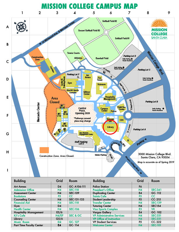 Campus Map Library