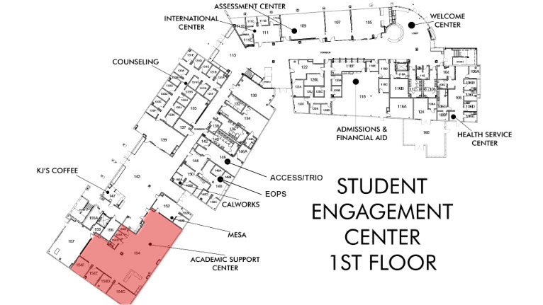 Academic Support Center Location