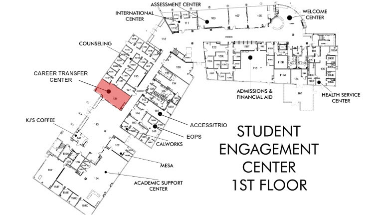 Career Transfer Center Location