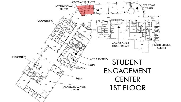 International Students Center Location