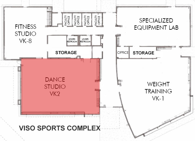 Dance Studio Location