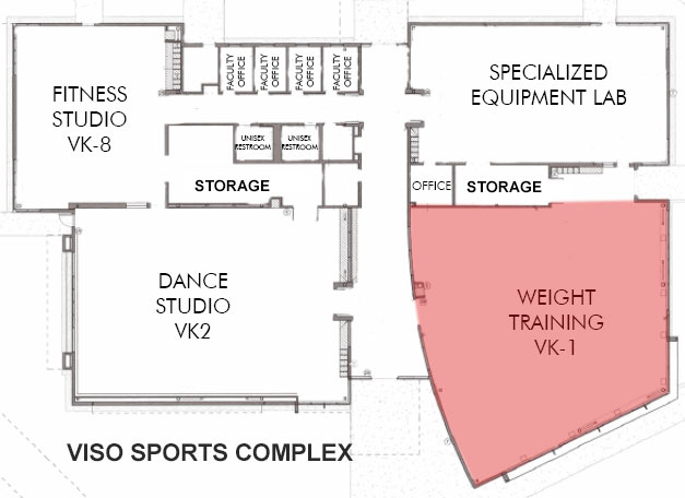 Weight Training Location