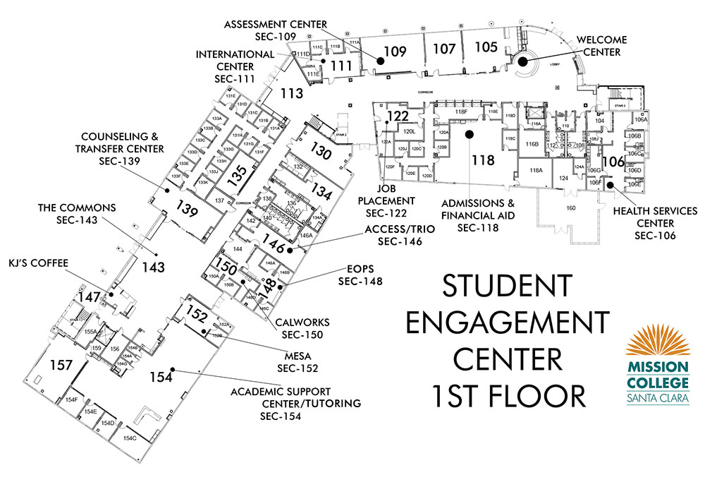 Student Engagement Center 1st Floor