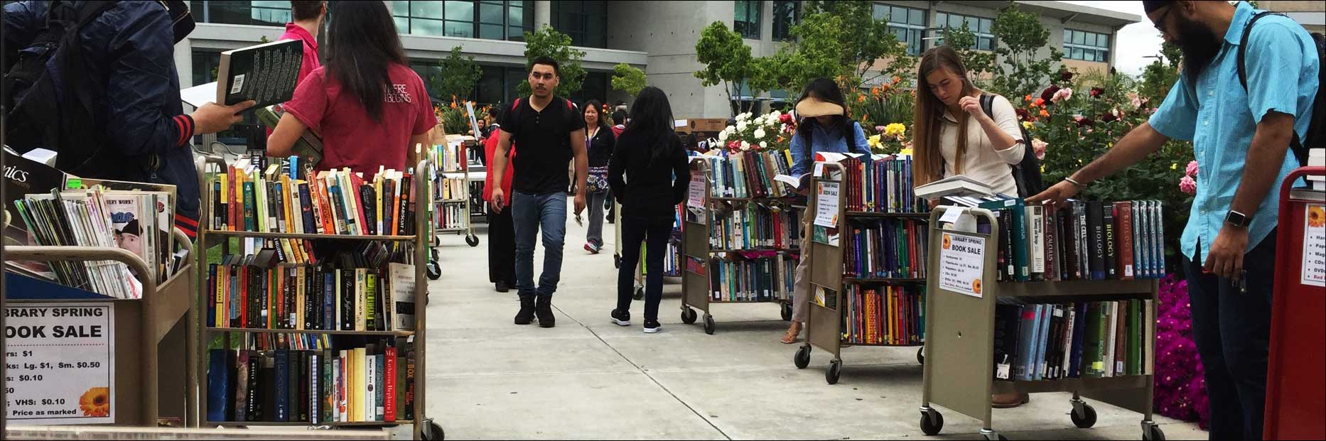 Library booksale