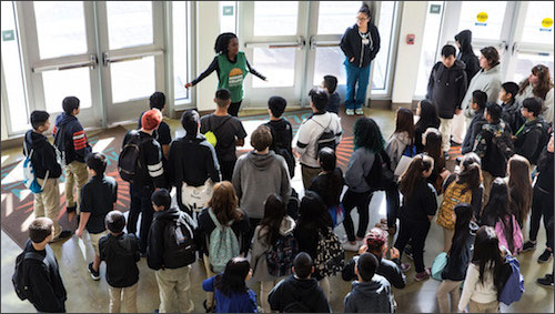 Campus tour by Student Ambassadors