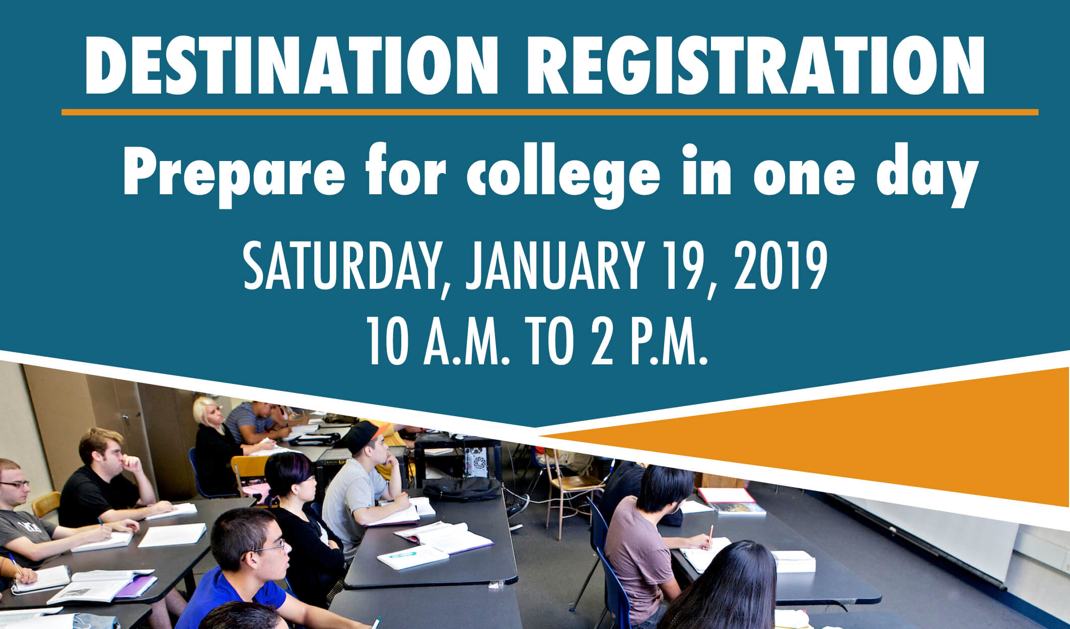 destination registration january 19